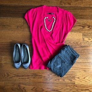 Pink Dress Top